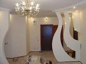 Монтаж гипсокартона в СПБ Санкт-Петербурге, перегородки и стены, арки и ниши из ГКЛ в Санкт-Петербурге