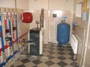 монтаж отопления в коттедже в СПБ Питере