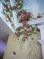 художественная роспись стен в СПБ Санкт-Петербурге
