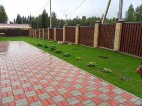 укладка тротуарной плитки в СПБ Санкт-Петербурге
